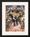 The New Yorker Cover - May 22, 1995 Framed Giclee Print by Edward Sorel