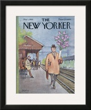 The New Yorker Cover - May 1, 1965 Framed Giclee Print by Charles Saxon