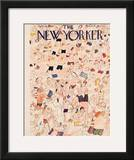 The New Yorker Cover - July 13, 1946 Framed Giclee Print by Ludwig Bemelmans