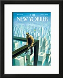 The New Yorker Cover - May 18, 2009 Framed Giclee Print by Eric Drooker