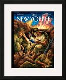 The New Yorker Cover - June 12, 2006 Framed Giclee Print by Owen Smith