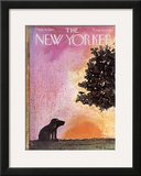 The New Yorker Cover - September 18, 1965 Framed Giclee Print by Andre Francois