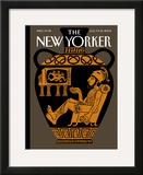 The New Yorker Cover - August 9, 2004 Framed Giclee Print by Christoph Niemann