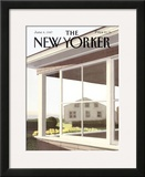 The New Yorker Cover - June 8, 1987 Framed Giclee Print by Gretchen Dow Simpson