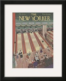 The New Yorker Cover - March 29, 1941 Framed Giclee Print by Ilonka Karasz