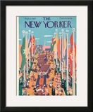The New Yorker Cover - September 2, 1939 Framed Giclee Print by Ilonka Karasz