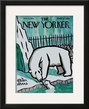 The New Yorker Cover - June 15, 1968 Framed Giclee Print by Peter Arno