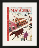 The New Yorker Cover - January 14, 1939 Framed Giclee Print by Arnold Hall