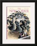 The New Yorker Cover - June 5, 2006 Framed Giclee Print by Edward Sorel