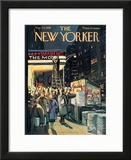 The New Yorker Cover - November 22, 1958 Framed Giclee Print by Arthur Getz