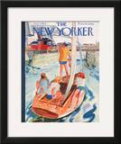 The New Yorker Cover - August 7, 1954 Framed Giclee Print by Garrett Price