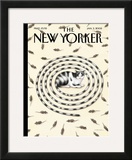 The New Yorker Cover - January 3, 2005 Framed Giclee Print by Gürbüz Dogan Eksioglu
