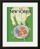 The New Yorker Cover - July 7, 2003 Framed Giclee Print by Christoph Niemann