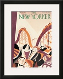 The New Yorker Cover - July 2, 1927 Framed Giclee Print by Victor Bobritsky