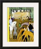 The New Yorker Cover - November 9, 1935 Framed Giclee Print by  Alain