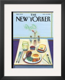 The New Yorker Cover - November 21, 2011 Framed Giclee Print by Wayne Thiebaud