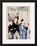 The New Yorker Cover - April 20, 1935 Framed Giclee Print by William Cotton