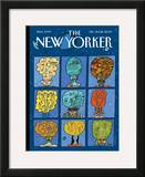 The New Yorker Cover - December 21, 2009 Framed Giclee Print by  Mariscal