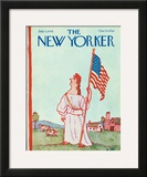 The New Yorker Cover - July 3, 1978 Framed Giclee Print by William Steig