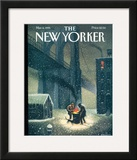 The New Yorker Cover - March 6, 1995 Framed Giclee Print by Eric Drooker