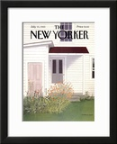 The New Yorker Cover - July 15, 1985 Framed Giclee Print by Gretchen Dow Simpson