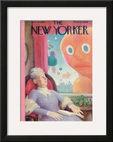 The New Yorker Cover - November 24, 1934 Framed Giclee Print by William Cotton
