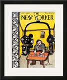 The New Yorker Cover - April 13, 1946 Framed Giclee Print by Abe Birnbaum