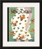 The New Yorker Cover - May 15, 1995 Framed Giclee Print by Bob Zoell (HA)