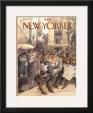 The New Yorker Cover - September 25, 2000 Framed Giclee Print by Edward Sorel