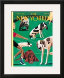 The New Yorker Cover - July 24, 1995 Framed Giclee Print by Mark Ulriksen