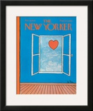 The New Yorker Cover - February 14, 1970 Framed Giclee Print by Pierre LeTan