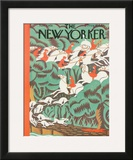 The New Yorker Cover - November 7, 1931 Framed Giclee Print by Margaret Schloeman