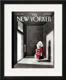The New Yorker Cover - November 22, 2004 Framed Giclee Print by Ian Falconer