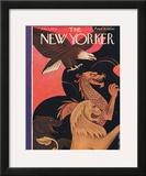 The New Yorker Cover - July 1, 1944 Framed Giclee Print by Rea Irvin