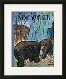 The New Yorker Cover - December 6, 1947 Framed Giclee Print by Peter Arno