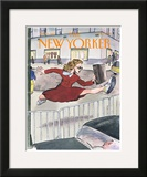 The New Yorker Cover - April 6, 1998 Framed Giclee Print by Barry Blitt