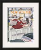 The New Yorker Cover - April 6, 1998 Framed Giclee Print by Barry Blitt