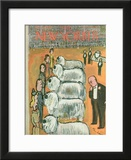 The New Yorker Cover - February 14, 1948 Framed Giclee Print by Abe Birnbaum
