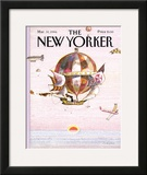The New Yorker Cover - March 31, 1986 Framed Giclee Print by Andrej Czeczot
