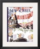 The New Yorker Cover - September 30, 1944 Framed Giclee Print by Perry Barlow