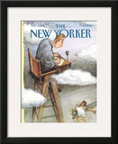 The New Yorker Cover - September 4, 1995 Framed Giclee Print by Edward Sorel