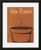 The New Yorker Cover - April 4, 1977 Framed Giclee Print by Robert Tallon