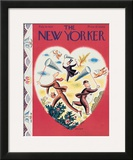 The New Yorker Cover - February 10, 1934 Framed Giclee Print by Harry Brown