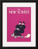 The New Yorker Cover - February 28, 1925 Framed Giclee Print by Carl Fornaro