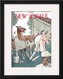 The New Yorker Cover - August 11, 1928 Framed Giclee Print by Peter Arno