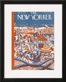 The New Yorker Cover - July 4, 1925 Framed Giclee Print by Ilonka Karasz