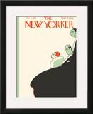 The New Yorker Cover - January 9, 1926 Framed Giclee Print by Hans Stengel