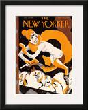The New Yorker Cover - January 23, 1926 Framed Giclee Print by James Daugherty