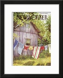 The New Yorker Cover - July 28, 1956 Framed Giclee Print by Edna Eicke