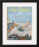 The New Yorker Cover - September 15, 1956 Framed Giclee Print by Arthur Getz